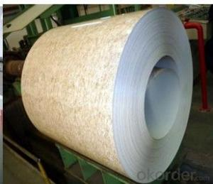 EXCELLENT PATTERN PREPAINTED GALVANIZED STEEL COIL