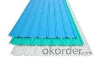 Pre-Painted Galvanized/Aluzinc Corrugated Steel Sheet Prime Quality