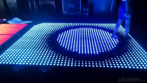 The best quality ! Led video dance floor for disco