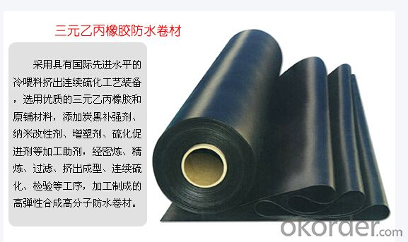 EPDM Waterproofing Roof Membrane