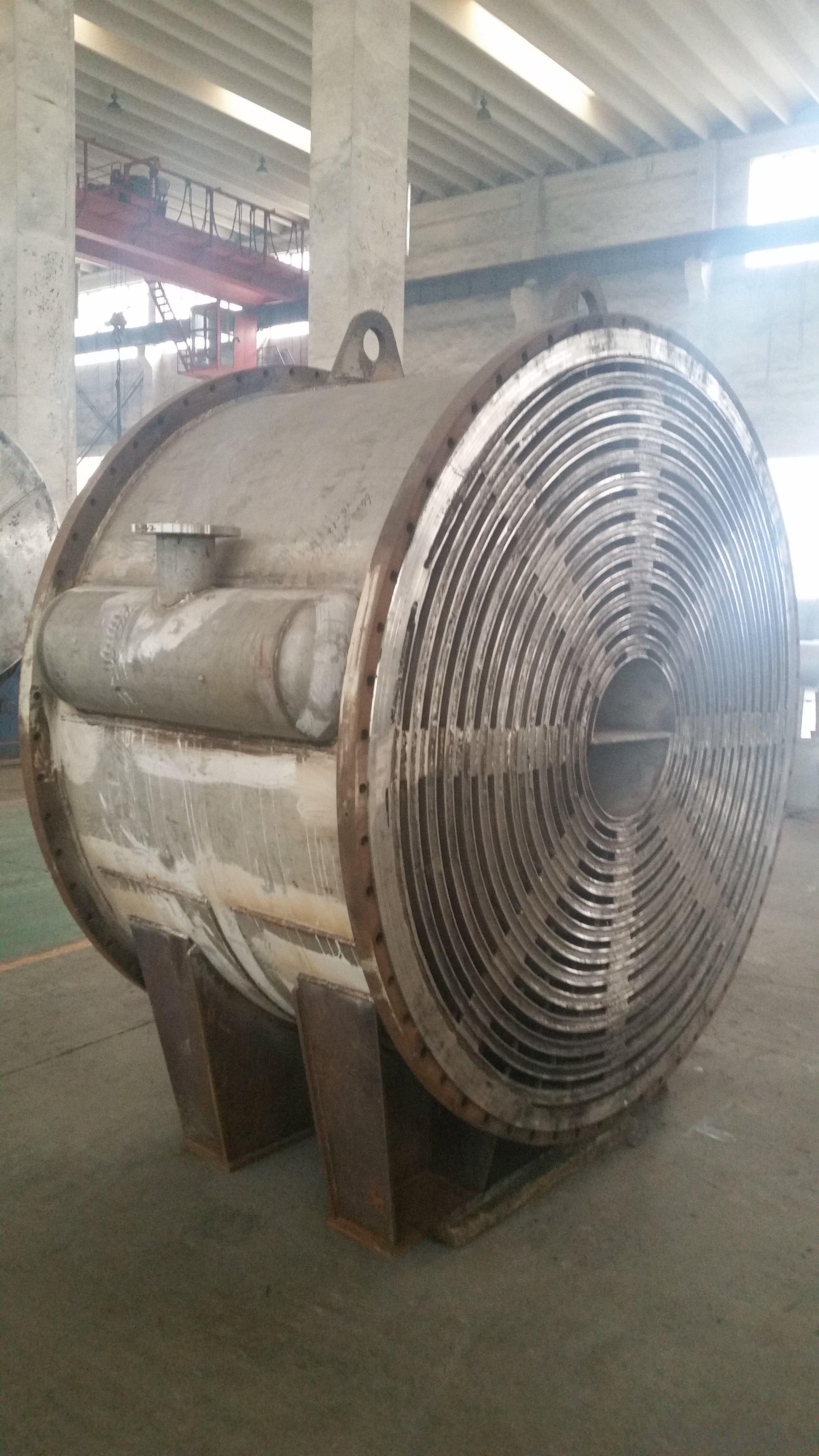 Spiral plate heat exchanger(Detachable)