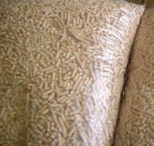 high quality pure pine bulk wooden pellet