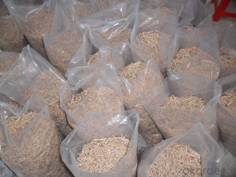 pine wooden pellet