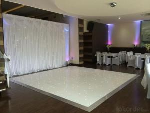 Hot sale ! Led white twinkling dance floor