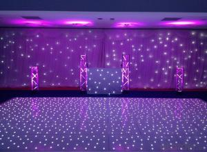You will like it ! Led white twinkling dance floor