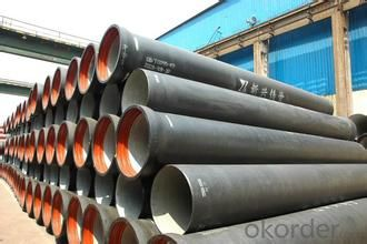 ductile iron pipe of  China Potable