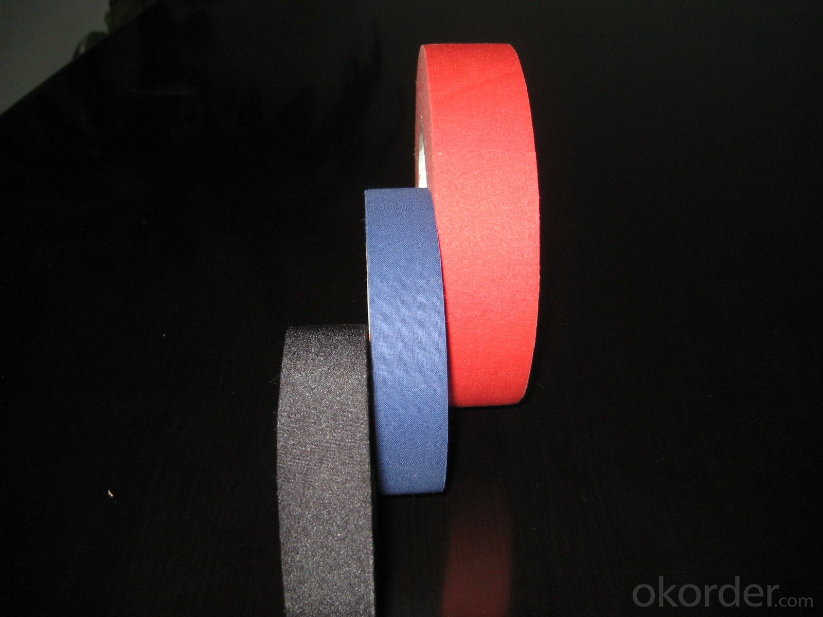 multi color adhesive duct cloth tape