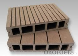 Waterproof Outdoor WPC Decking Floor Covering