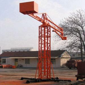 Concrete Placing Boom For Pouring Concrete Hot Sale