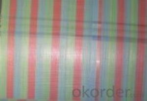 Stripe Tarpaulin Polyethylene