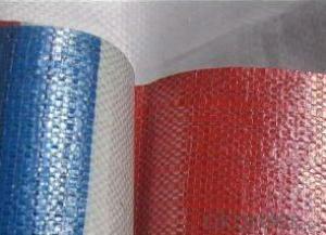 Thick Stripe HDPE Tarpaulin