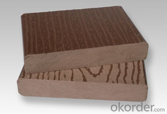 WPC Decking with China Industry for sale 160x25mm