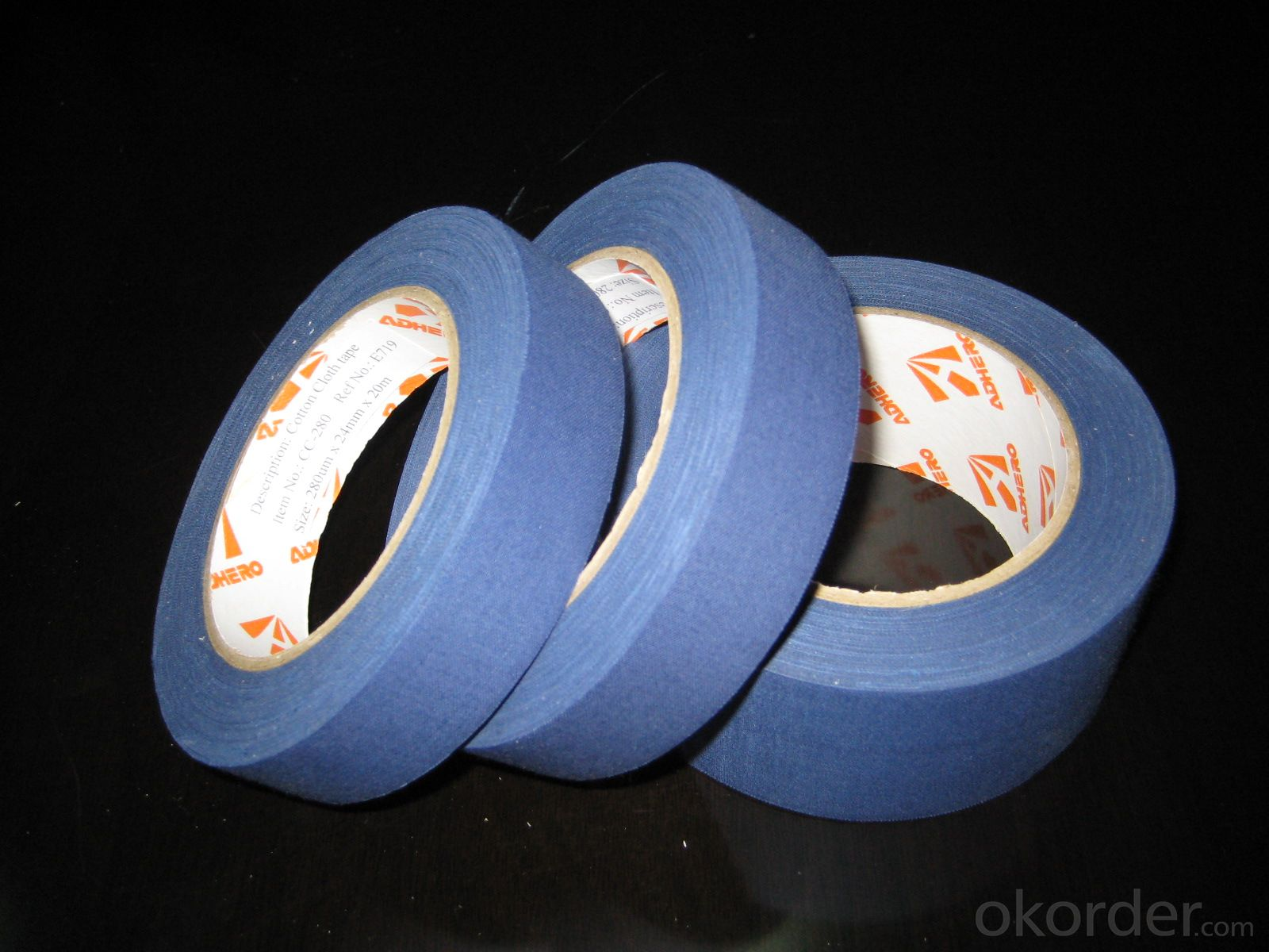 The biggest manufacturer of wholesale durability high quality duct cloth tape
