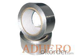 self adhesive fireproof heat resistant aluminum foil tape