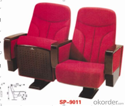 Cinema Chair/Theatre Chair/Auditorium Chairs With Table Pad  9011