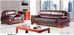 Luxury Modern Sectional  Leather/PU Office Sofa/Chair CN11