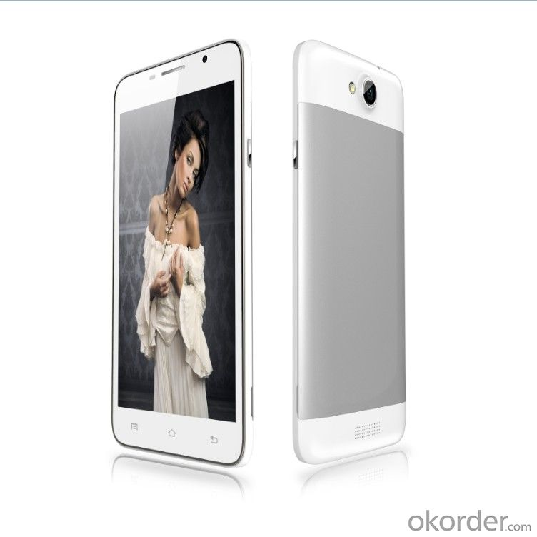 MTK6572 3G WCDMA Mobile Phone 4.7inch 854*480 Android 4.2