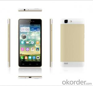 OEM 5inch Qhd Mtk6582 Quad Core 1.3GHz Smart Phone 1g+4G