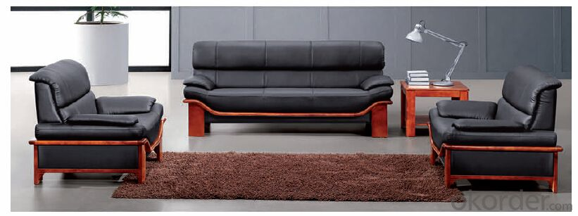 Luxury Modern Sectional  Leather/PU Office Sofa/Chair CN27
