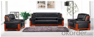 Luxury Modern Sectional  Leather/PU Office Sofa/Chair CN60
