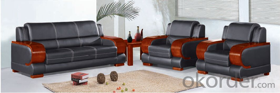 Luxury Modern Sectional  Leather/PU Office Sofa/Chair CN188