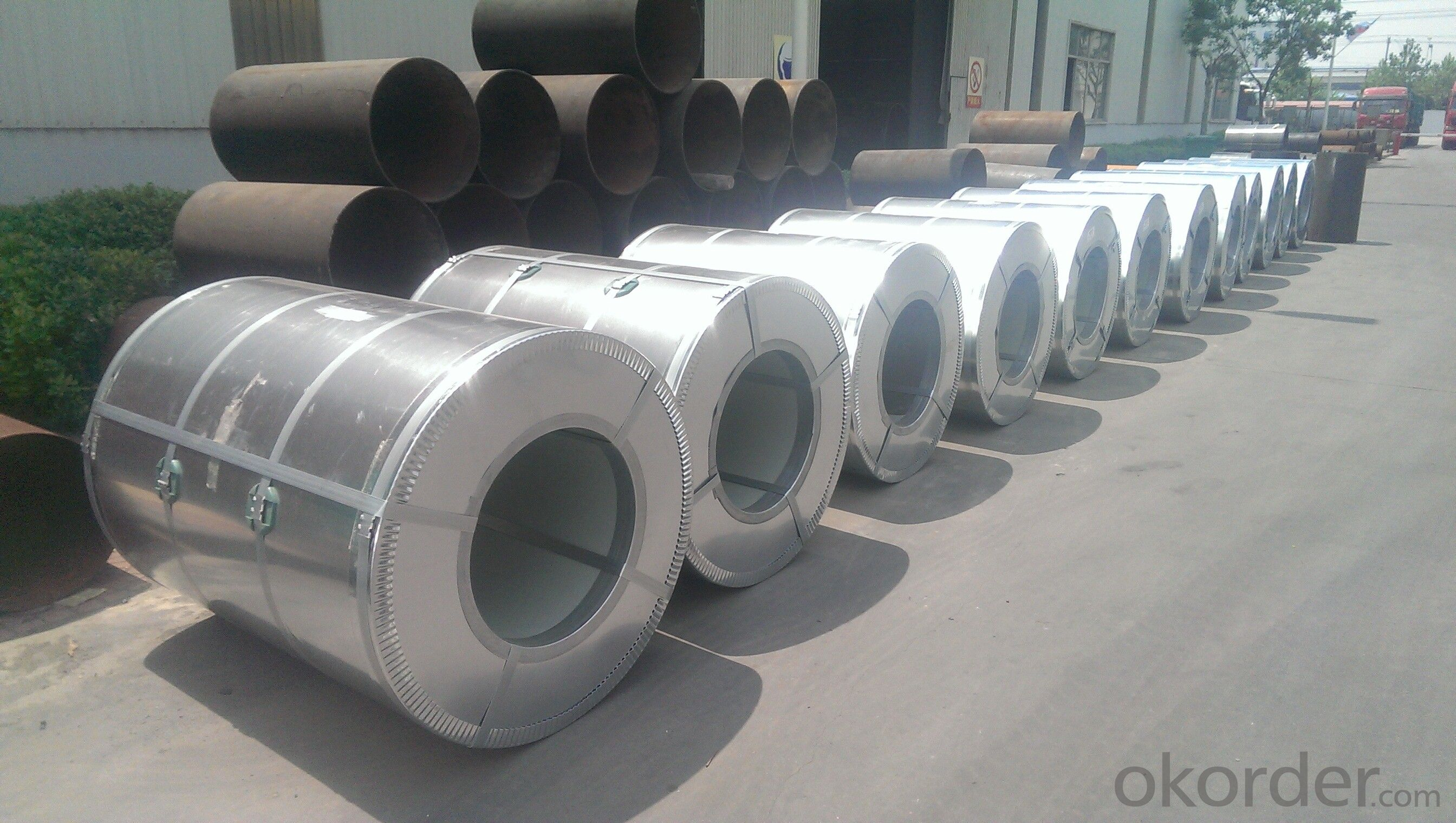 Prime Hot Dipped Aluzinc Steel Sheet In Coils