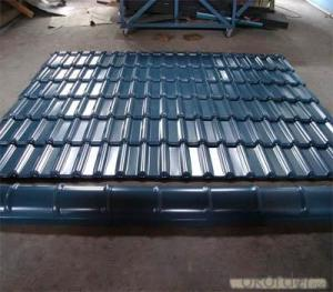 GLAZED TILE FOR HOUSE IN PREPAINTED GALVANIZED STEEL COIL