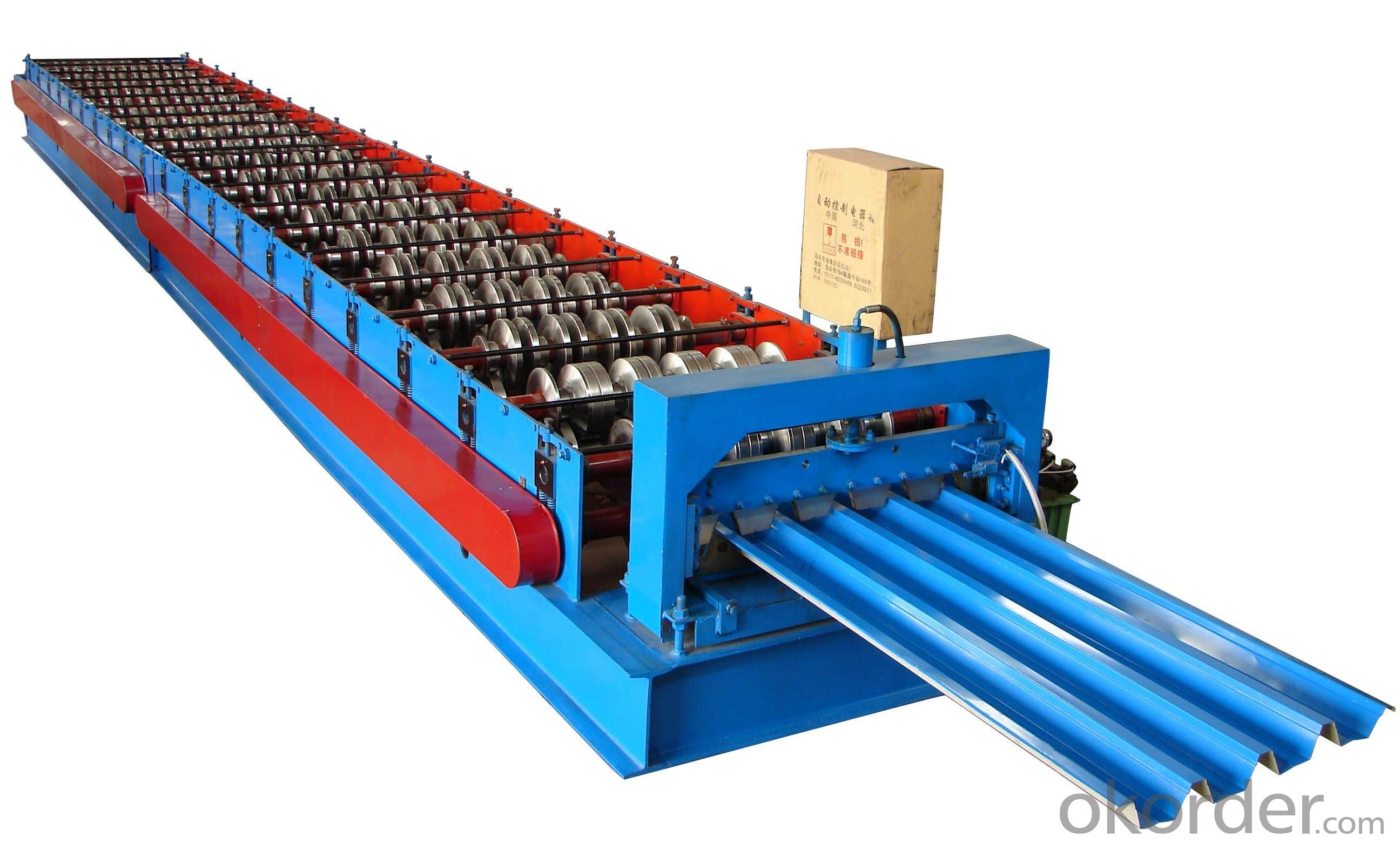 SINGLE ROOF OF PREPAINTED STEEL COIL MACHINE
