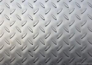 High grade hot rolling steel checkered plate