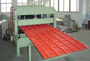 GLAZED TILE ROLL FORMING FOR PREPAINTED STEEL COIL