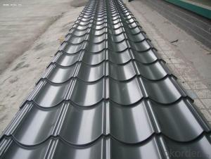 GLAZED TILE FOR HOUSE IN PREPAINTED GALVANIZED STEEL COIL