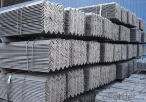 High grade hot rolled equilateral angle steel