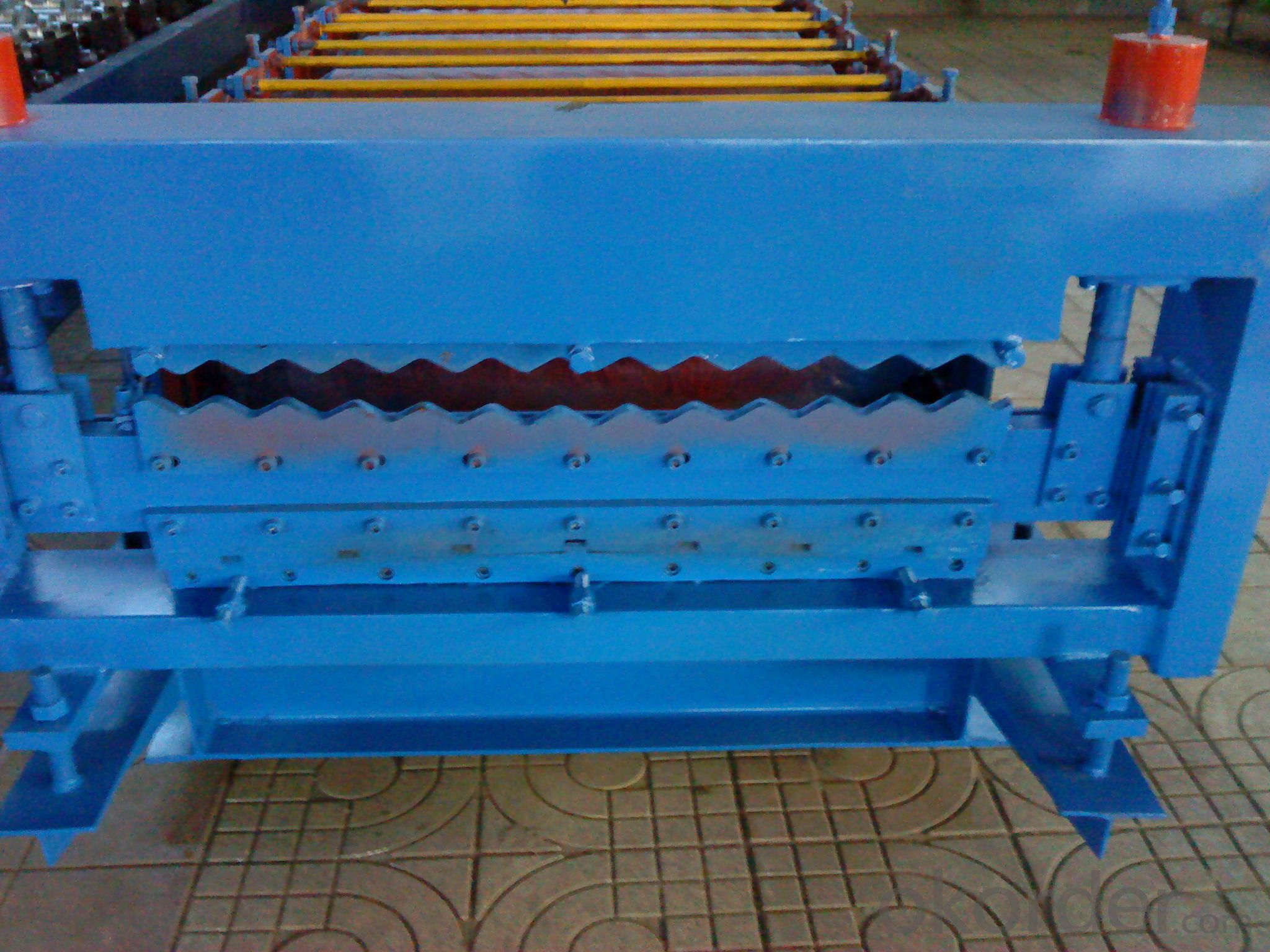 DOUBLE PANEL FOR ROOF ROLL FORMING MACHINE