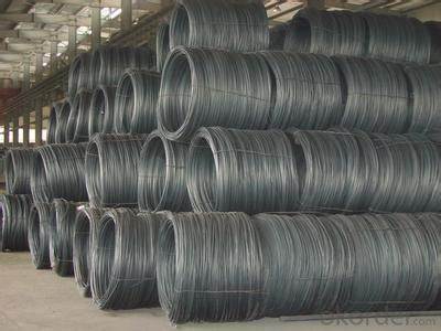 SAE1008 Steel wire rod Size:5.5/6.5/7/8/9/10/11/12mm