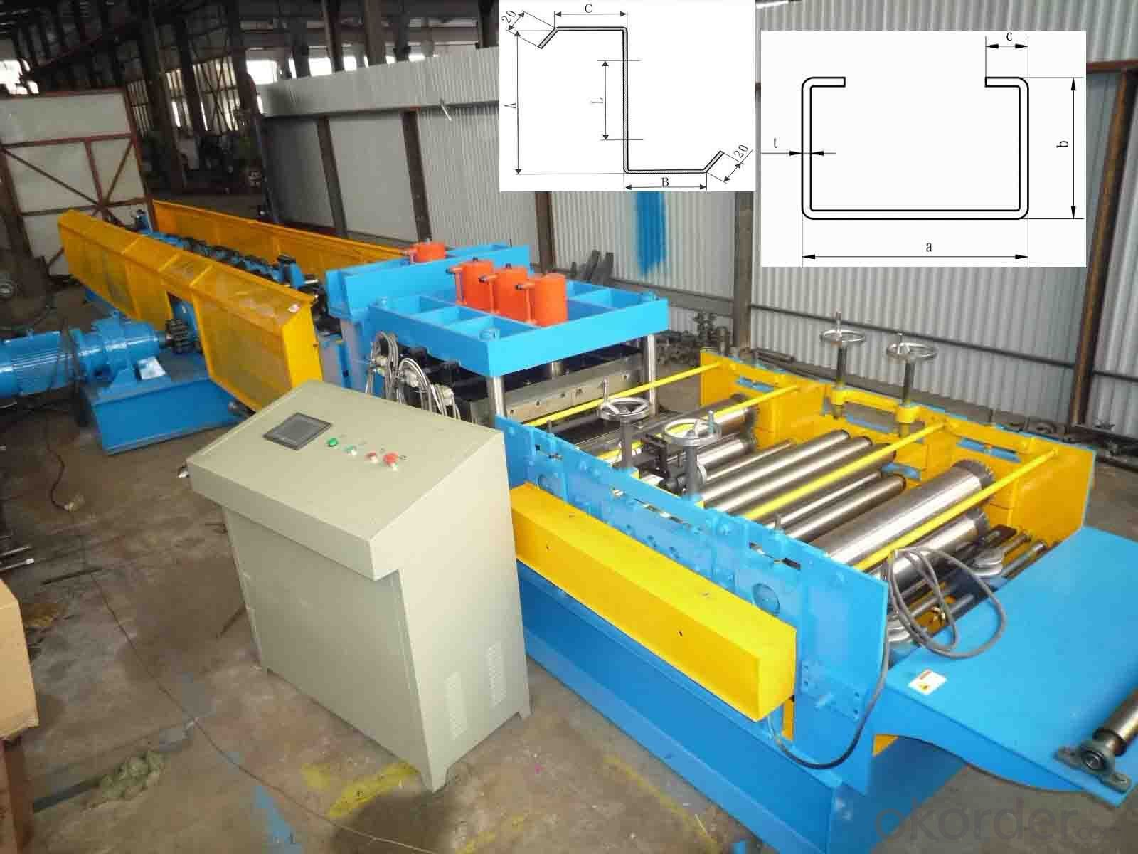 C&Z PURLIN FOR DRY WALL ROLL FORMING MACHINE