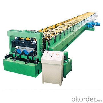 HOT ROLLED STEEL PIPE ROLL FORMING MACHINE