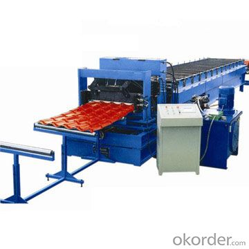 FLOOR DECK  FOR BUILDING ROLL FORMING MACHINE