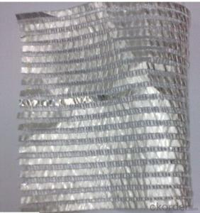 Greenhouse energy saving sunshade net with aluminium