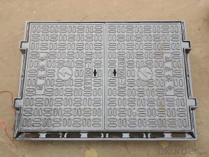 Nodular cast iron composite manhole covers