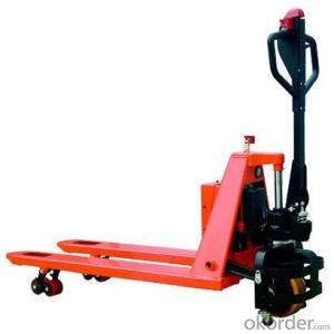 PRODUCT NAME:Semi-electric Pallet Truck--SPT15