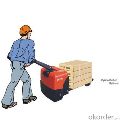 PRODUCT NAME:Power Pallet Truck WP-LPT15(DC)