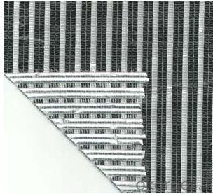 Sunshade net aluminium foil 60% shade factor