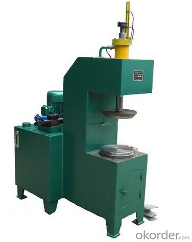 Paint Bucket Tin Can making Line Hydraulic Semi Automatic Pre-curling and Flanging Machine