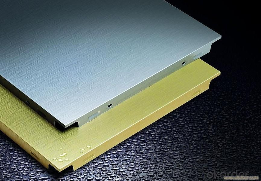 New Model Commercial Ceiling Tile, Aluminum Square Ceiling