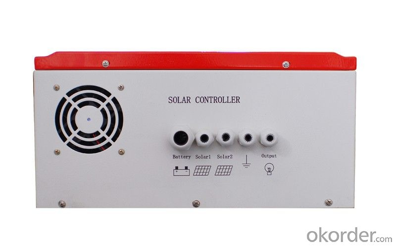 MPPT Solar Charge Controller 96V 60A for off grid solar power system and RS485 available