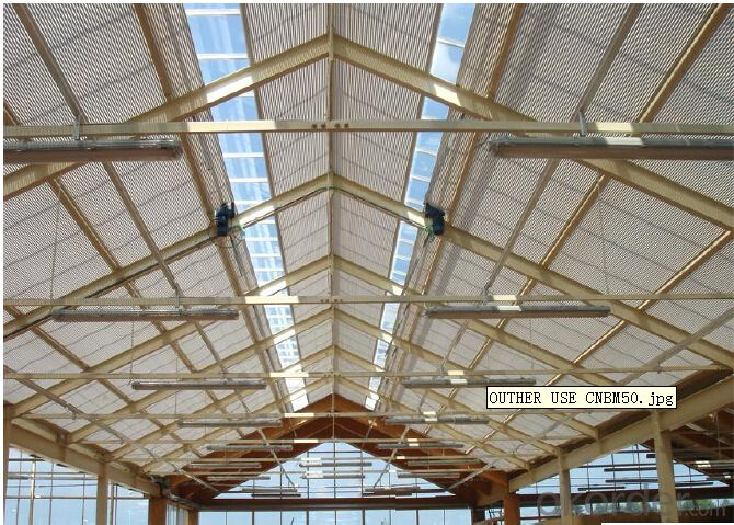 HDPE Aluminium Shade Net 5 Years Guarantee