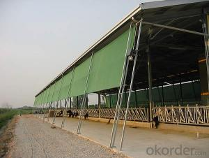 HDPE sunshade net folded aliminium net for plant flower