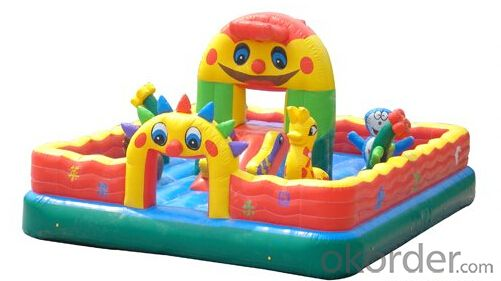 Popular Kids Playing Inflatable Bouncy Castle