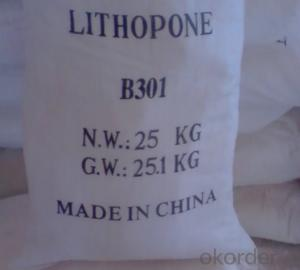 Lithopone White Powder  B311 28%-30% For Paint &Coating and Plastic