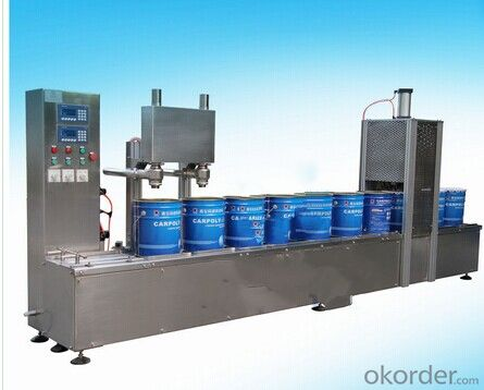 DCS Series Gravity Type Automatic Filling Production Line